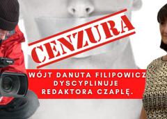 Dyscyplinujący telefon od pani wójt Danuty Filipowicz